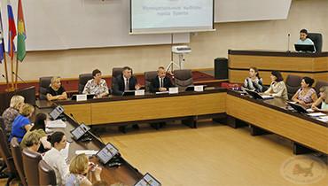 Член ЦИК Александр Кинев посетил г. Братск